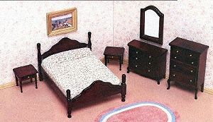 miniature doll house furniture